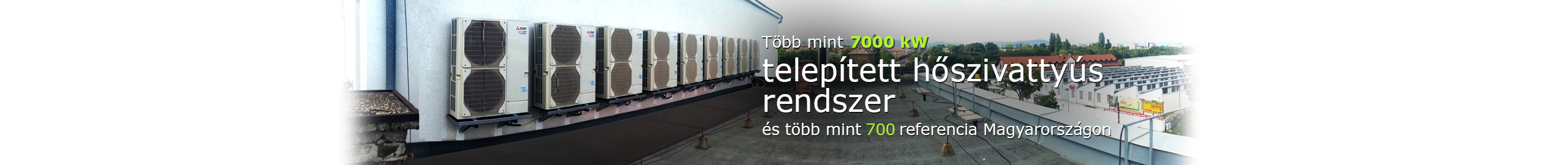 Több mint 7000 telepített hőszivattyús rendszer a COP Rendszertechnikától