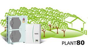Négy év alatt megtérülő, zöld energiát hasznosító Ecodan hőszivattyú.