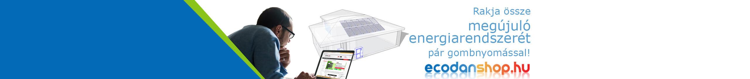 Hőszivattyú és napelem webshop
